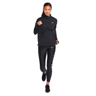 Elmnt Top Kadın Siyah Koşu Uzun Kollu Tişört AA4631-010 1068142
