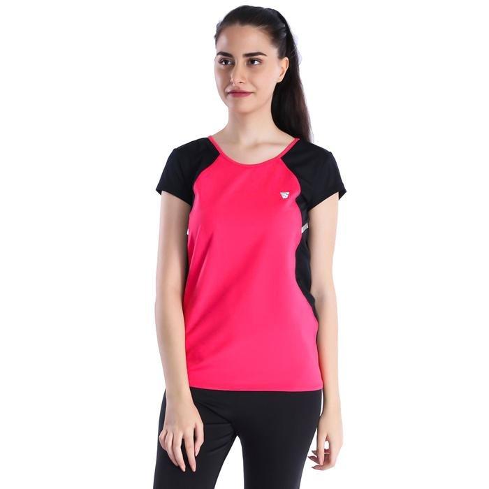 Miksupwom Kadın Pembe Koşu Tişört 710470-MGB 1016507