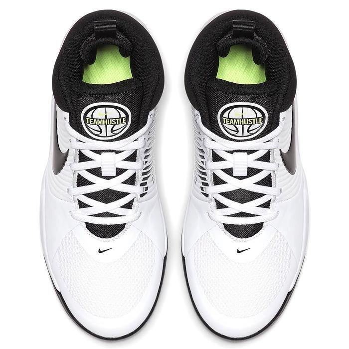 Team Hustle D 9 (Gs) Unisex Beyaz Basketbol Ayakkabısı AQ4224-100 1122295