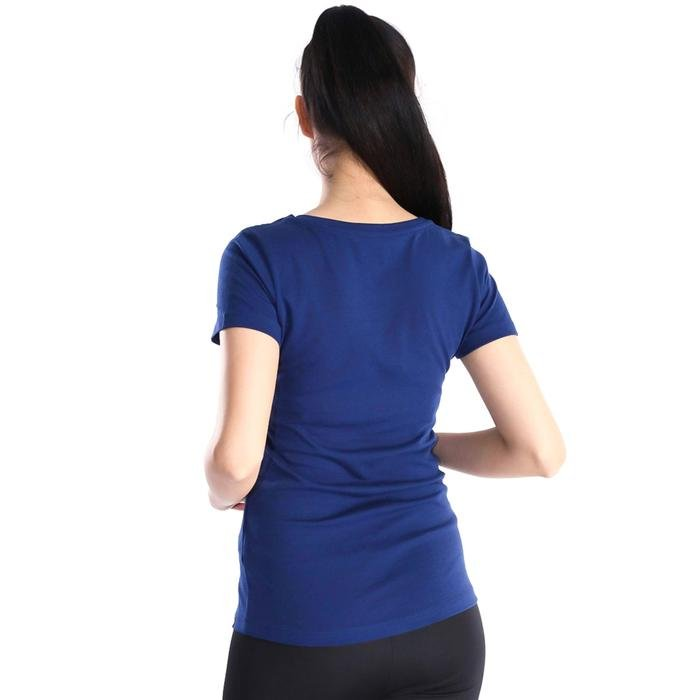 Supkestop Kadın Lacivert Günlük Stil Tişört 400214-0MD 714275