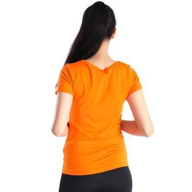 Polkestop Kadın Turuncu Günlük Stil Tişört 400218-ORG 714437