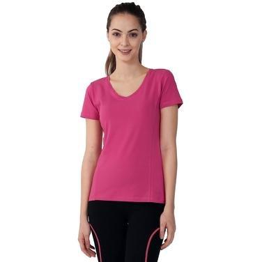 Supkestop Kadın Pembe Günlük Stil Tişört 525031-0RS 752324