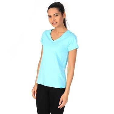 Flakestop Kadın Mavi Günlük Stil Tişört 610003-0Tl 802514