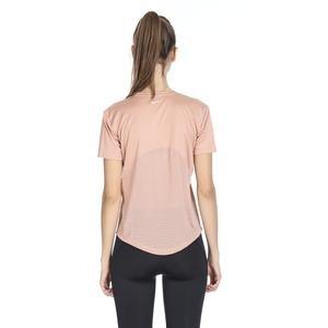 Miler Top Kadın Pembe Koşu Tişört AJ8121-605