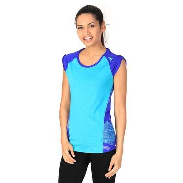 Ed Func Bou T Kadın Mavi Outdoor Tişört S10218 704849