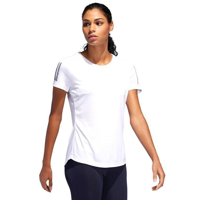 Own The Run Kadın Beyaz Günlük Stil Tişört DQ2620 1115231