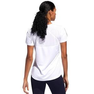 Own The Run Kadın Beyaz Günlük Stil Tişört DQ2620