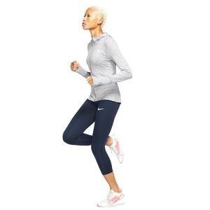 Element Kadın Gri Kapüşonlu Koşu Sweatshirt CQ8864-056