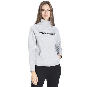 2X i-Lock Kadın Gri Günlük Stil Sweatshirt S192202-035