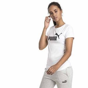 Ess Logo Tee Kadın Beyaz Tişört 85178702