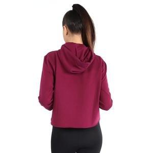 Newswekis Kadın Bordo Koşu Sweatshirt 710429-MRL