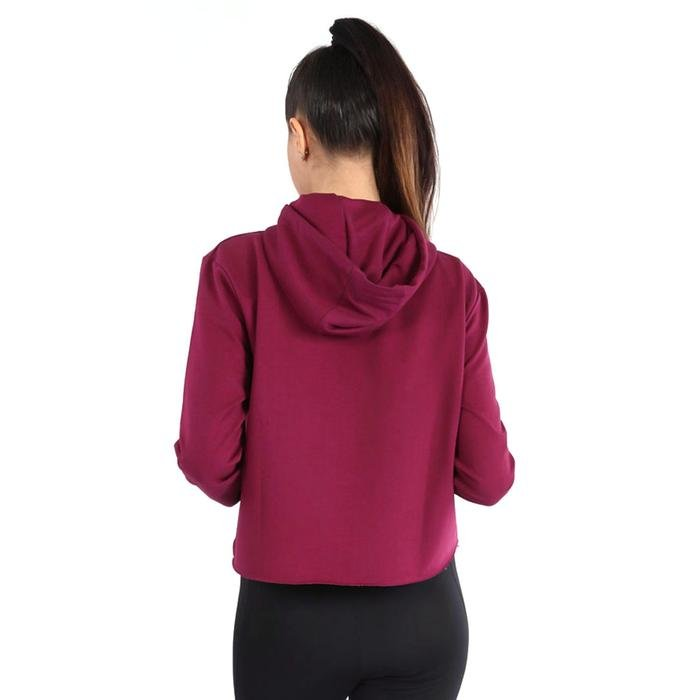 Newswekis Kadın Bordo Koşu Sweatshirt 710429-MRL 1036838