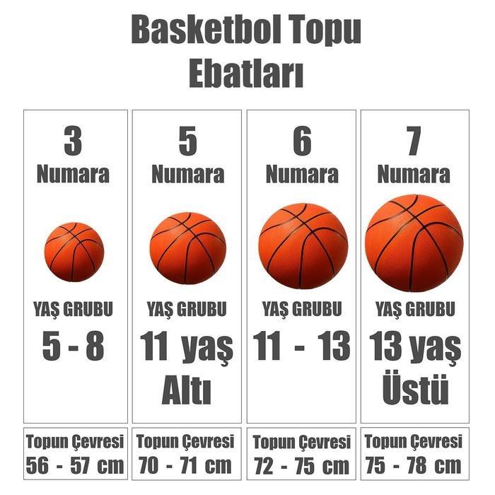Skills Kahverengi Basketbol Topu N.KI.08.879.03 995569