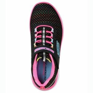 Summits Çocuk Siyah Spor Ayakkabı 302071L BKMT