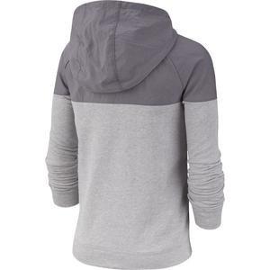 Hoodie Fz Av Çocuk Gri Günlük Stil Sweatshirt BV3665-056