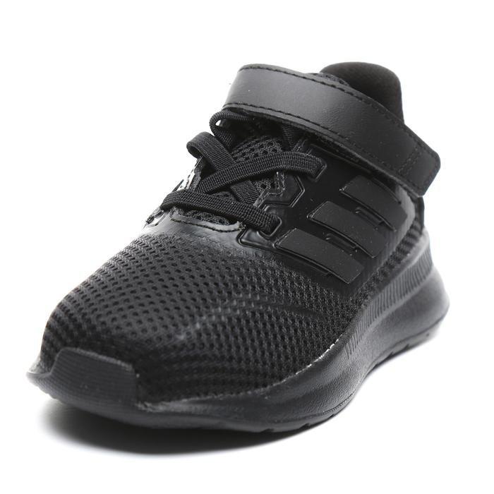 Runfalcon Çocuk Siyah Spor Ayakkabı EG2225 1176579