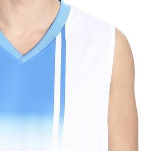 Cougar Erkek V Yaka Beyaz-Mavi Basketbol Forması 201421-0BX