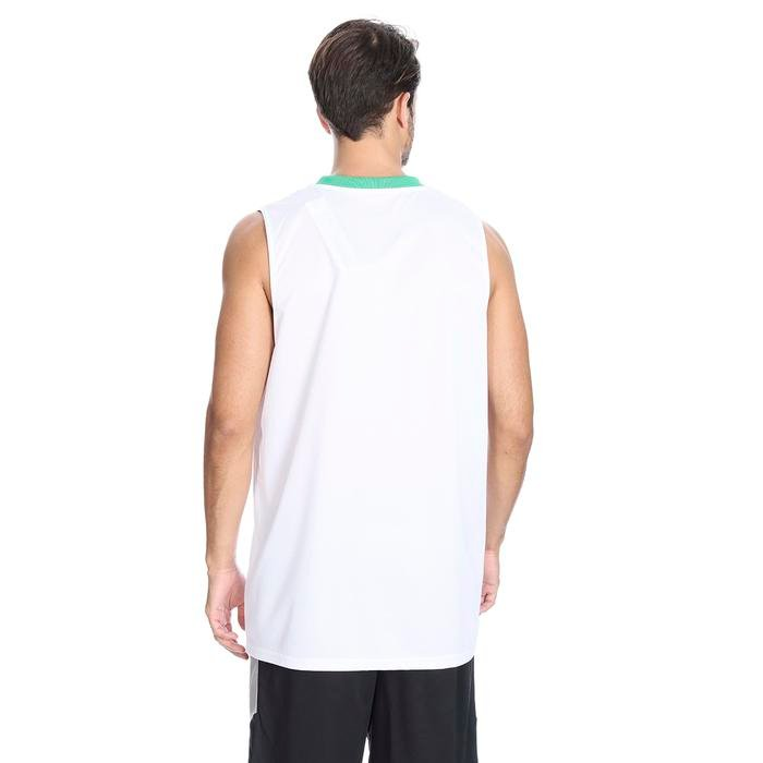 Cougar Erkek Beyaz V Yaka Basketbol Forması 201421-0BY 636442