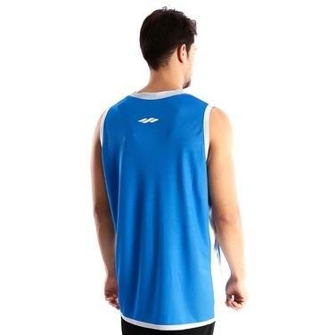 Basics Line Erkek Mavi Çift Taraflı Antrenman Basketbol Forması 500001-KXB 753221