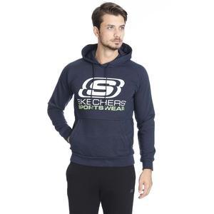 Fleece Erkek Siyah Günlük Stil Sweatshirt S192095-410
