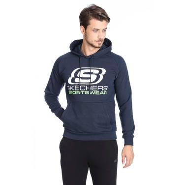 Fleece Erkek Siyah Günlük Stil Sweatshirt S192095-410 1149561