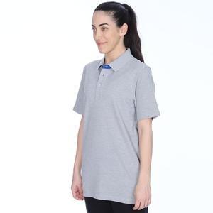 Kamp Kadın Gri Basketbol Polo Tişört Tke1117-0Gm