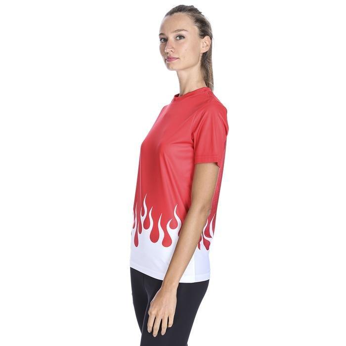 Hyper-Fit Kadın Kırmızı Antrenman Tişört TSB1009-KRM 1132367