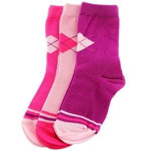 Çok Renkli 3'Lü Çorap 2014011-MIX1