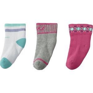 Bootie Çocuk Çok Renkli 3'lü Çorap SX4812-910