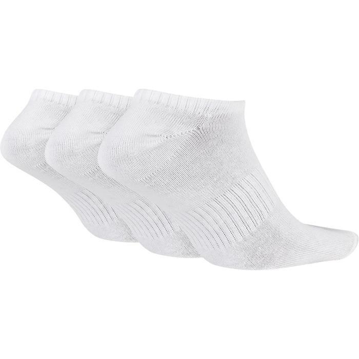 Everyday Lightweight No-Show Beyaz 3'Lü Çorap SX7678-100 1042076