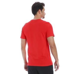 Just Do it Swoosh Erkek Kırmızı Günlük Stil Tişört AR5006-657