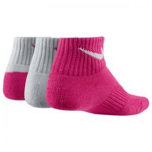 Cotton Cushion Quarter Çocuk Renkli 3'lü Çorap Seti SX4722-926