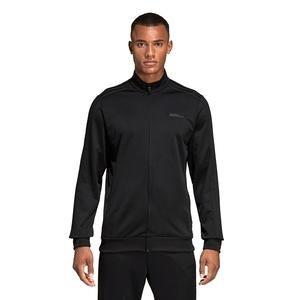 Essentials Erkek Siyah Antrenman Ceketi DU0447