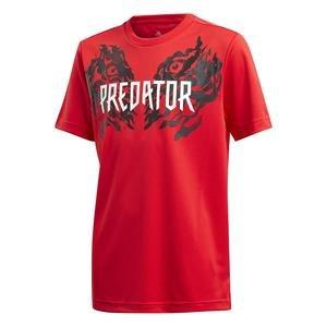 Predator Graphic Çocuk Kırmızı Tişört FL2754
