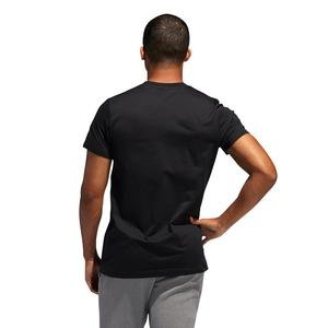 Dame Logo Erkek Siyah Basketbol Tişört FM4791