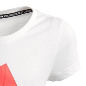 Must Haves Badge Kadın Beyaz Tişört FM6509