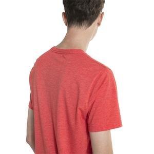 ESS+ Heather Tee Erkek Kırmızı Günlük Tişört  85241911