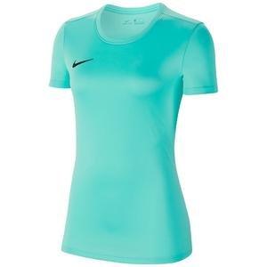 Nk Dry Park Vii Jsy Ss Kadın Mavi Tişört BV6728-354