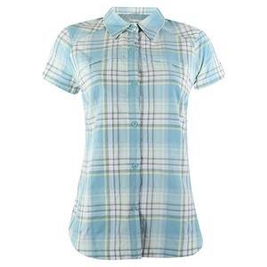 Kadın Mavi Kısa Kollu Gömlek AL7122-341
