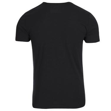 Mountbasic Erkek Siyah Koşu Tişört M10017-BLK 1066094