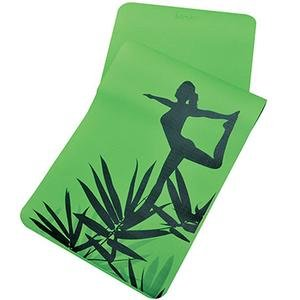 Yoga Mat Yeşil Fitness Mat - Eğzersiz Minderi 1VTAKYOGA-069