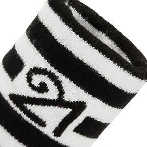 Havlu Bileklik (1 Pakette 2 Adet) Siyah Antrenman Bilekliği Wbl0115
