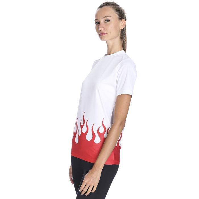 Hyper-Fit Kadın Beyaz Antrenman Tişört TSB1009-BYZ 1132361