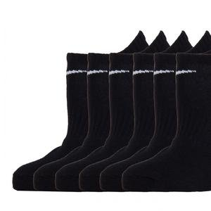 Everyday Lightweight Siyah 6'lı Çorap SX7679-010