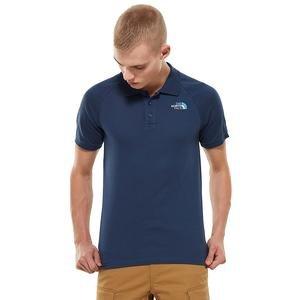 Raglan Jersey Polo-Eu Erkek Lacivert Tişört NF0A3BQ2N4L1