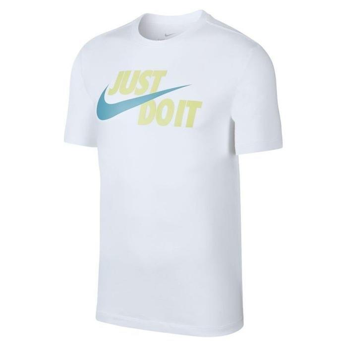 Nsw Just Do It Swoosh Erkek Beyaz Tişört AR5006-104 1205015