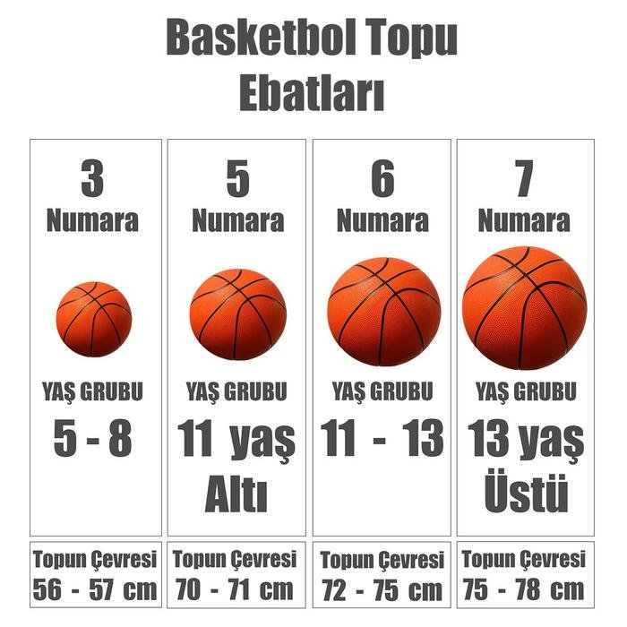 Dominate 8P Unisex Gri Basketbol Topu N.KI.00.018.07 995505