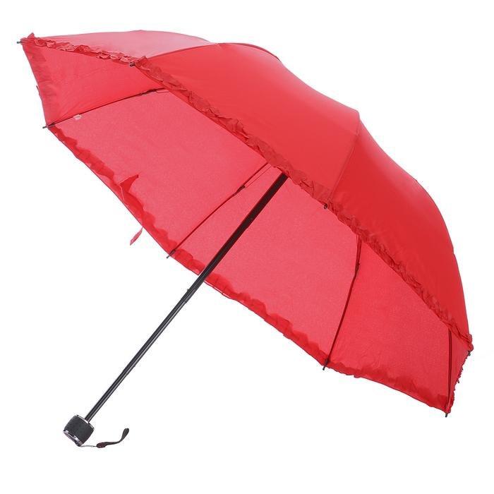 Kırmızı Katlanabilir Şemsiye 20200109-10-KIRMIZI 1180756