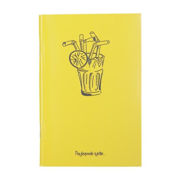 Sarı Küçük Not Defteri 20200109-06-SARI 1180744