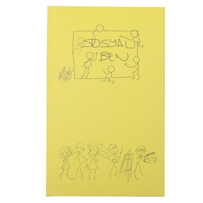 Sarı Kalın Kaplı Defter 20200109-04-SARI 1180750